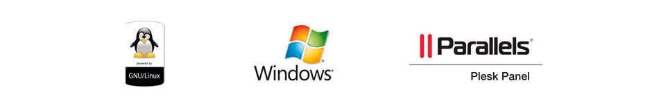 Linux, Windows, Plesk Panel