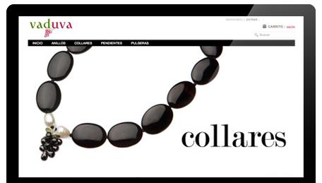 Diseño web y tienda online. Vaduva