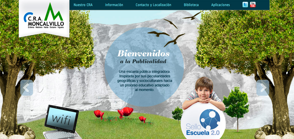 fotografia en diseño web