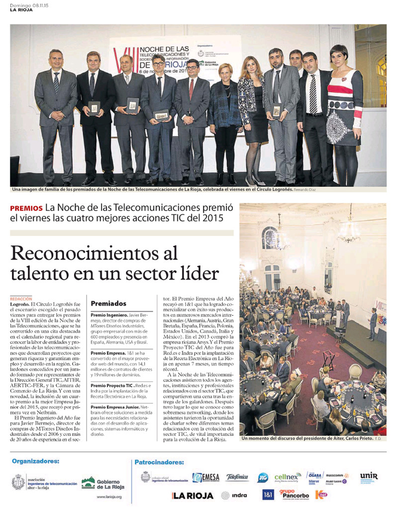 PremioEmpresaJunior2015_netbrain