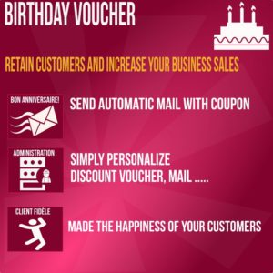 happy birthday sending coupon automatic way