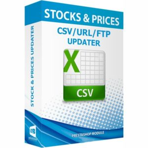 stock and prices updater via csv url ftp alerts